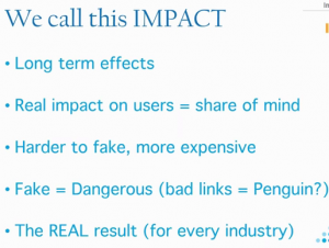Impact Summary by Impactana