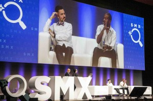 Rand Fishkin (l), Will Reynolds SMX Munich 2017 in Munich, Germany on 14 March 2017 (c) Rising Media/Kurt Krieger/Hubert Bösl 2017